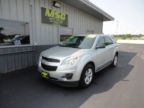 2015 Chevrolet Equinox for sale at Moss Service Center-MSC Auto Outlet in West Union IA