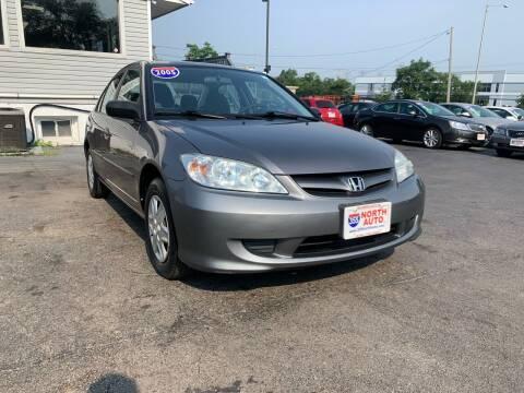 2005 Honda Civic for sale at 355 North Auto in Lombard IL