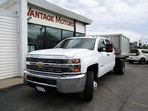 2016 Chevrolet Silverado 3500HD CC for sale at Vantage Motors LLC in Raytown MO