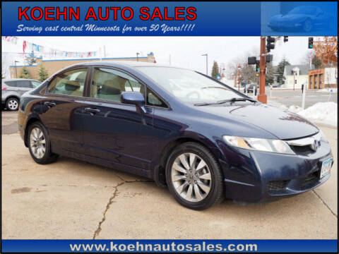 2010 Honda Civic for sale at Koehn Auto Sales in Lindstrom MN