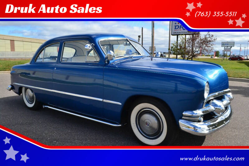 1951 Ford Deluxe for sale at Druk Auto Sales in Ramsey MN