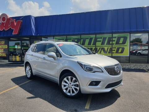2016 Buick Envision for sale at CITY SELECT MOTORS in Galesburg IL