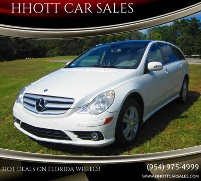 2008 Mercedes-Benz R-Class for sale at HHOTT CAR SALES in Deerfield Beach FL