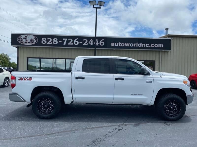 2017 Toyota Tundra for sale at AutoWorld of Lenoir in Lenoir NC