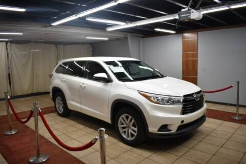 2016 Toyota Highlander for sale at Adams Auto Group Inc. in Charlotte NC