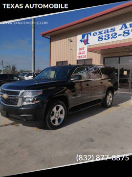 2015 Chevrolet Suburban for sale at TEXAS AUTOMOBILE in Houston TX
