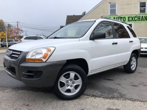 2007 Kia Sportage for sale at J's Auto Exchange in Derry NH