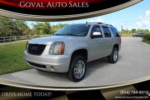 2007 GMC Yukon for sale at Goval Auto Sales in Pompano Beach FL
