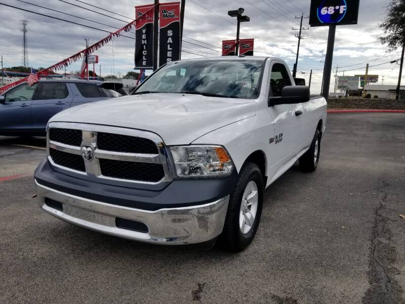 2017 RAM Ram Pickup 1500 for sale at ON THE MOVE INC in Boerne TX