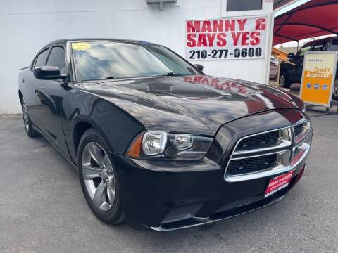 2011 Dodge Charger for sale at Manny G Motors in San Antonio TX