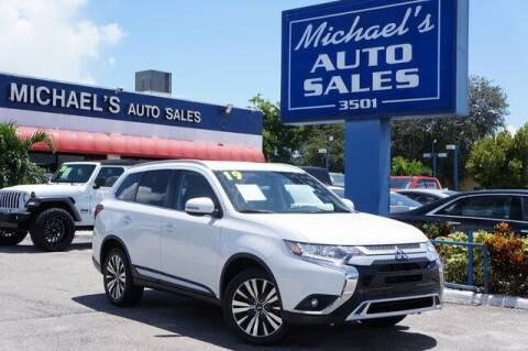 2019 Mitsubishi Outlander for sale at Michael's Auto Sales Corp in Hollywood FL