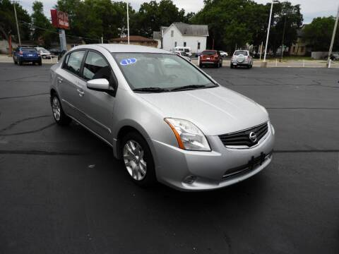 2012 Nissan Sentra for sale at Grant Park Auto Sales in Rockford IL