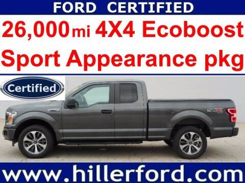 2019 Ford F-150 for sale at HILLER FORD INC in Franklin WI