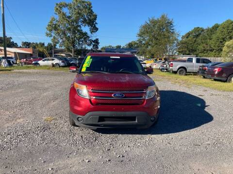 2014 Ford Explorer for sale at Auto Mart in North Charleston SC