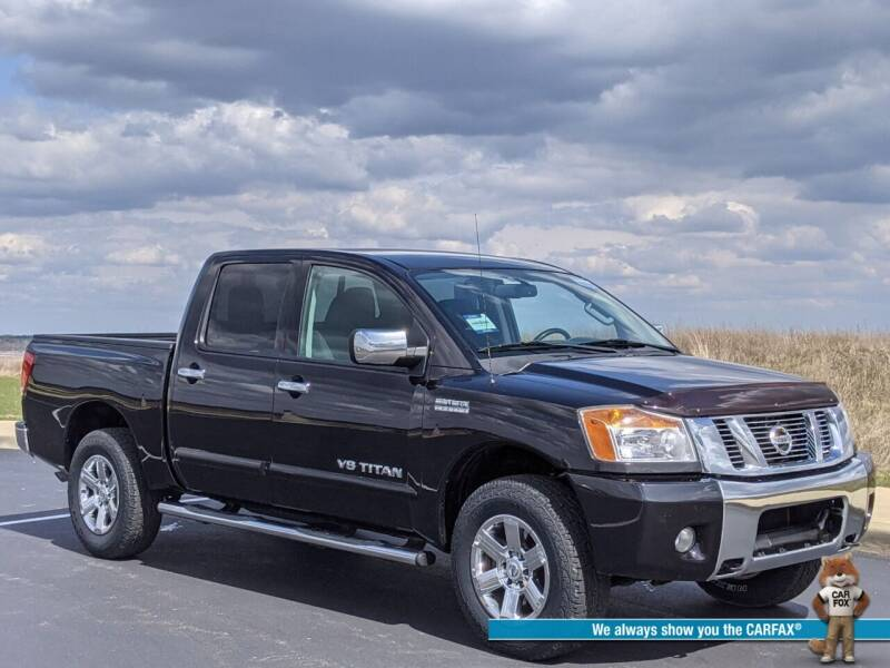 2012 Nissan Titan for sale at Bob Walters Linton Motors in Linton IN