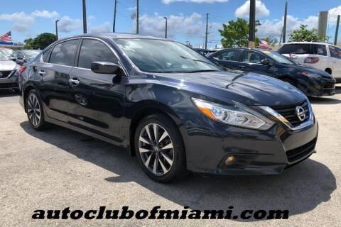 2017 Nissan Altima for sale at AUTO CLUB OF MIAMI, INC in Miami FL