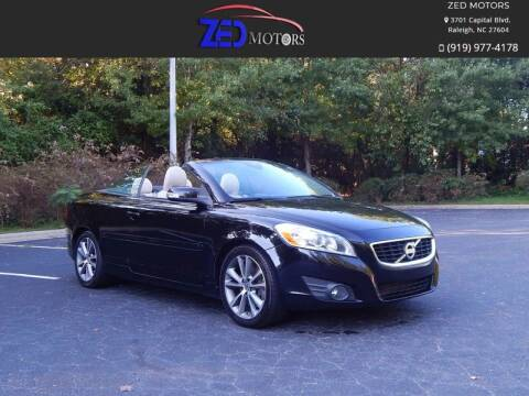 2011 Volvo C70 for sale at Zed Motors in Raleigh NC