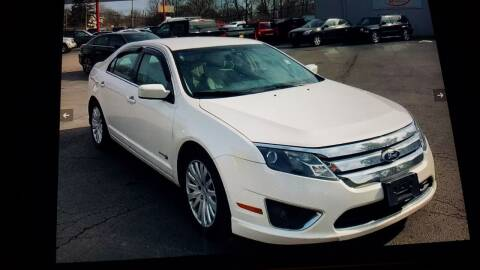 2010 Ford Fusion Hybrid for sale at CARS PLUS MORE LLC in Cowan TN