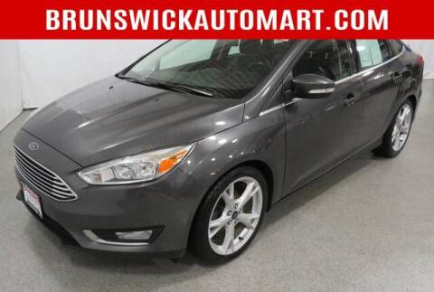 2015 Ford Focus for sale at Brunswick Auto Mart in Brunswick OH