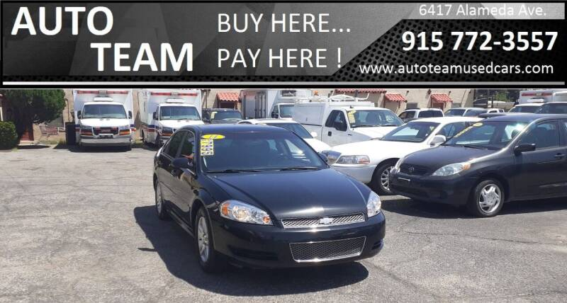 2014 Chevrolet Impala Limited for sale at AUTO TEAM in El Paso TX
