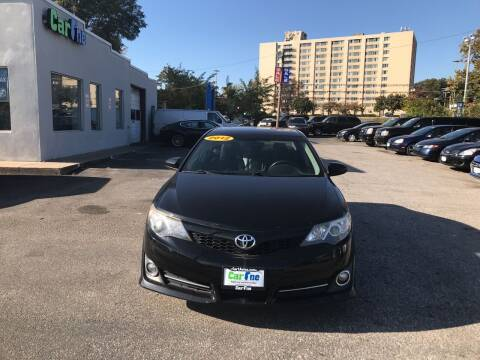 2012 Toyota Camry for sale at Car One in Essex MD