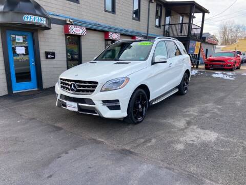 2014 Mercedes-Benz M-Class for sale at Sisson Pre-Owned in Uniontown PA
