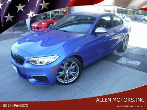 2015 BMW 2 Series for sale at Allen Motors, Inc. in Thousand Oaks CA