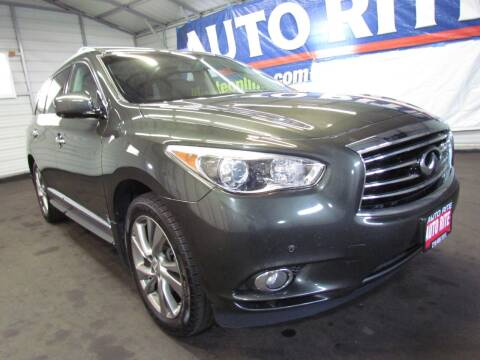 2013 Infiniti JX35 for sale at Auto Rite in Cleveland OH