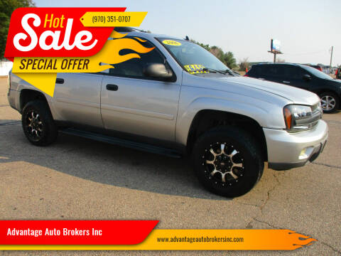 2006 Chevrolet TrailBlazer EXT for sale at Advantage Auto Brokers Inc in Greeley CO