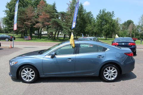 2014 Mazda MAZDA6 for sale at GEG Automotive in Gilbertsville PA