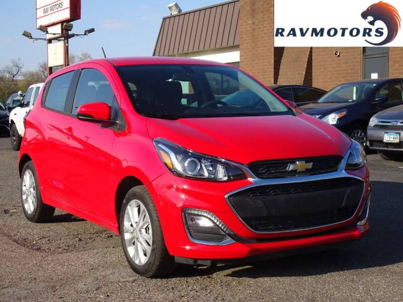 2021 Chevrolet Spark for sale at RAVMOTORS in Burnsville MN