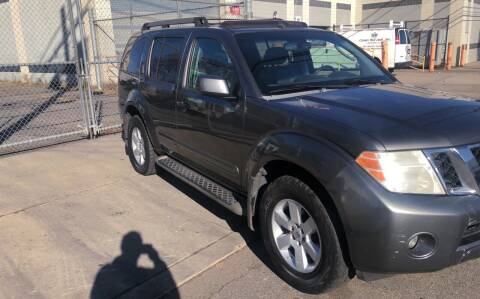 2008 Nissan Pathfinder for sale at O A Auto Sale in Paterson NJ