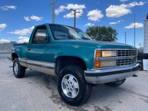 1993 Chevrolet C/K 1500 Series for sale at Eastside Auto Sales in El Paso TX
