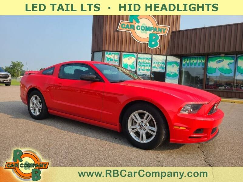 2014 Ford Mustang for sale at R & B Car Co in Warsaw IN