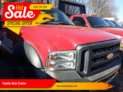 2006 Ford F-450 Super Duty for sale at Family Auto Center in Waterbury CT