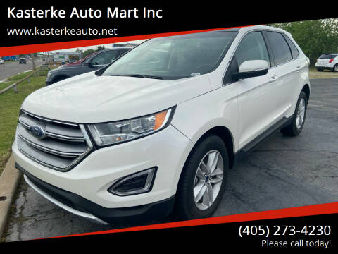 2017 Ford Edge for sale at Kasterke Auto Mart Inc in Shawnee OK