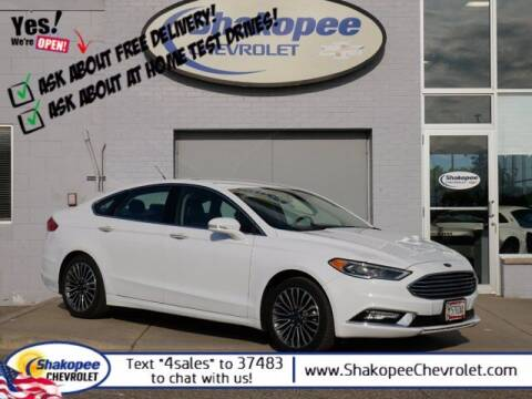 2017 Ford Fusion for sale at SHAKOPEE CHEVROLET in Shakopee MN