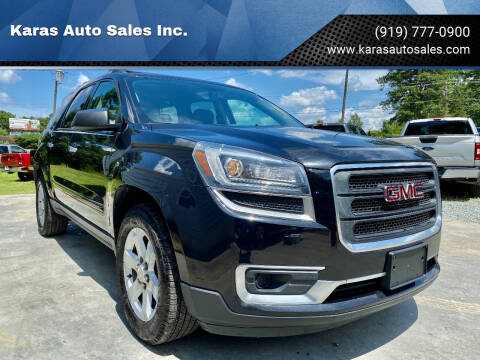 2014 GMC Acadia for sale at Karas Auto Sales Inc. in Sanford NC