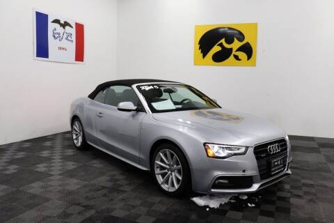 2015 Audi A5 for sale at Carousel Auto Group in Iowa City IA