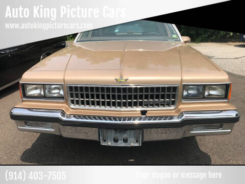 1986 Chevrolet Caprice for sale at Auto King Picture Cars in Westchester County NY