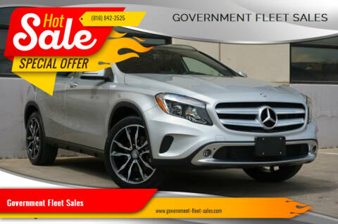 2016 Mercedes-Benz GLA for sale at Government Fleet Sales in Kansas City MO