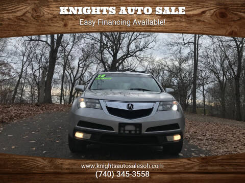 2012 Acura MDX for sale at Knights Auto Sale in Newark OH
