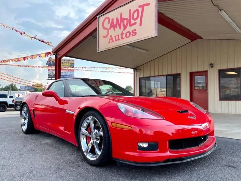 2012 Chevrolet Corvette for sale at Sandlot Autos in Tyler TX