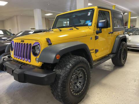 2015 Jeep Wrangler for sale at Vantage Auto Wholesale in Moonachie NJ