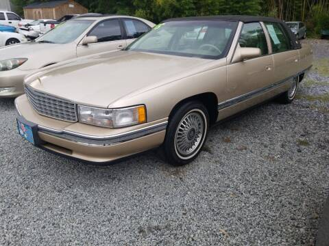 1995 Cadillac DeVille for sale at TR MOTORS in Gastonia NC