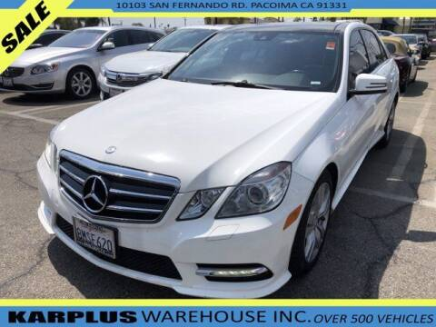 2013 Mercedes-Benz E-Class for sale at Karplus Warehouse in Pacoima CA