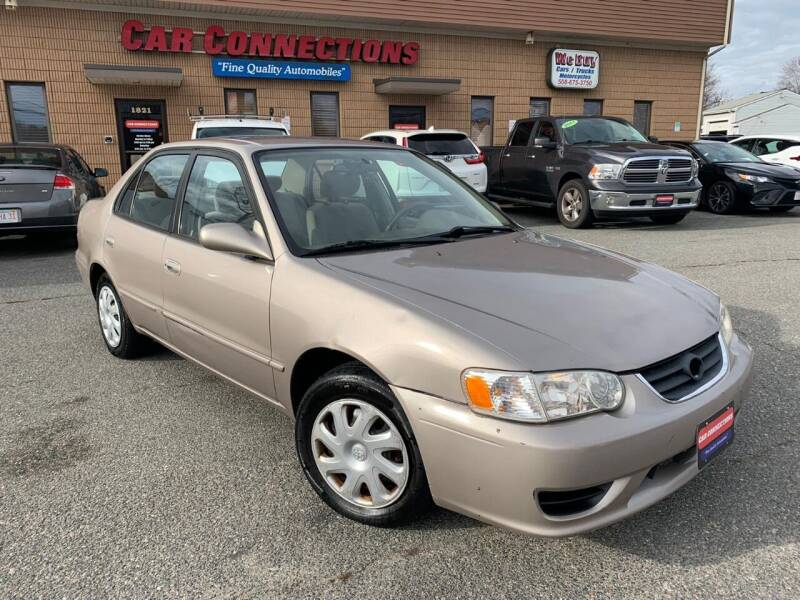 2002 Toyota Corolla for sale at CAR CONNECTIONS in Somerset MA
