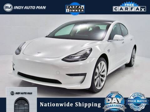 2019 Tesla Model 3 for sale at INDY AUTO MAN in Indianapolis IN