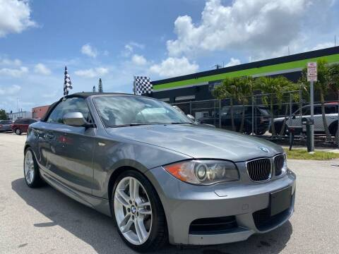 2011 BMW 1 Series for sale at GCR MOTORSPORTS in Hollywood FL