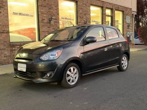 2014 Mitsubishi Mirage for sale at The King of Credit in Clifton Park NY
